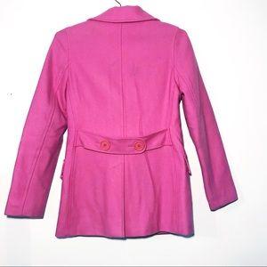 dELiA*s Jackets & Coats - dELiA*s Pink Wool Peacoat *vintage*